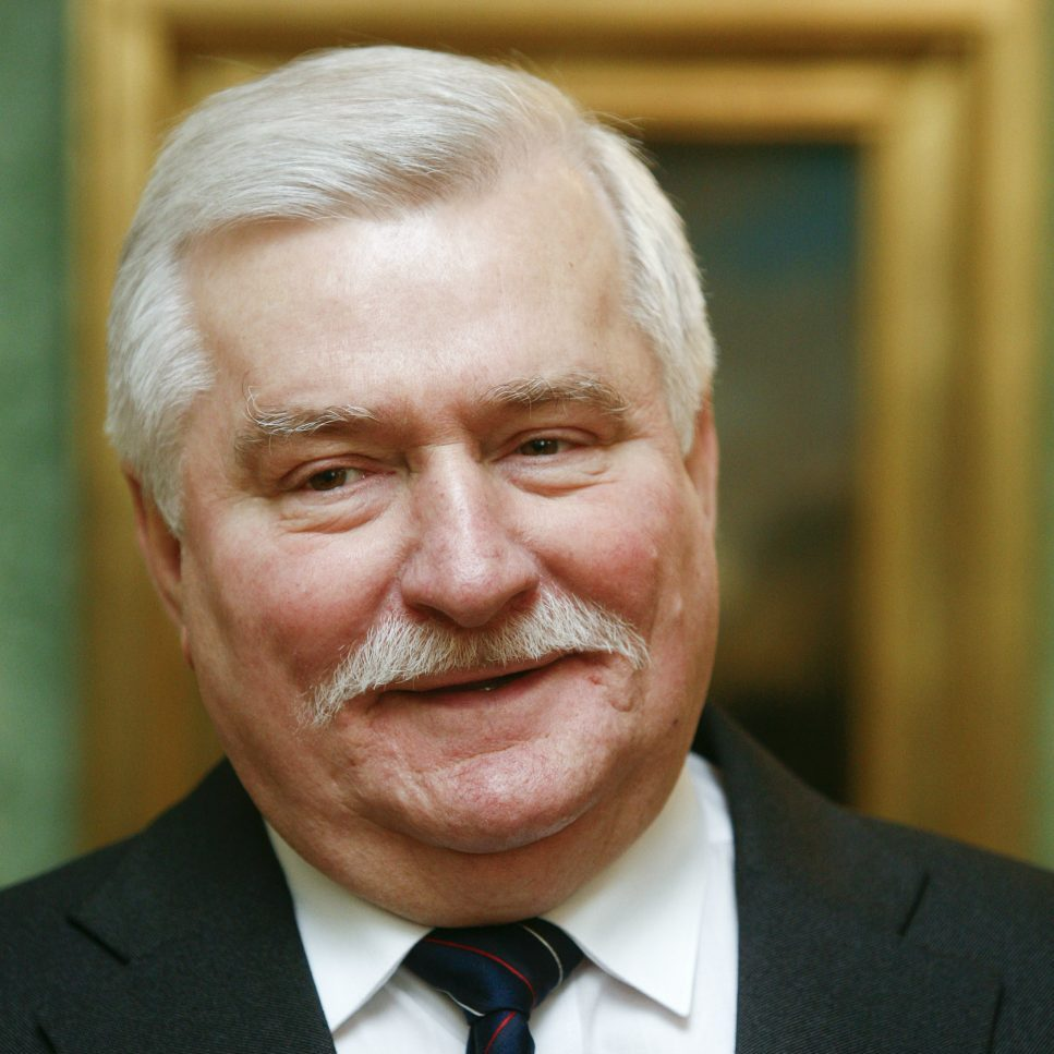 Nobel Prize Speaker Lech Walesa