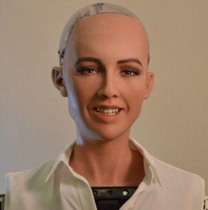 Robot Speaker Robot Sophia