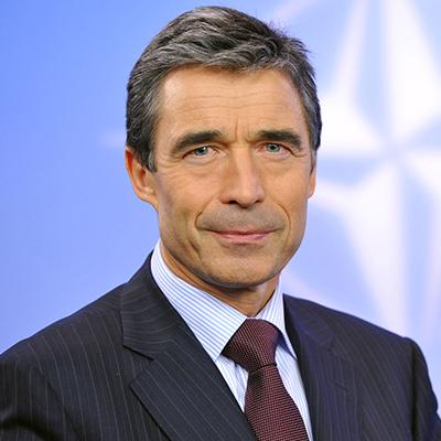 Political Speaker Anders Fogh Rasmussen