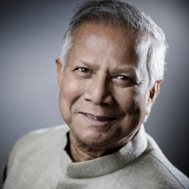 Human Rights Speaker Muhammad Yunus