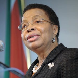 Education Speaker Graca Machel