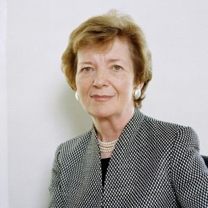Political Speaker Mary Robinson