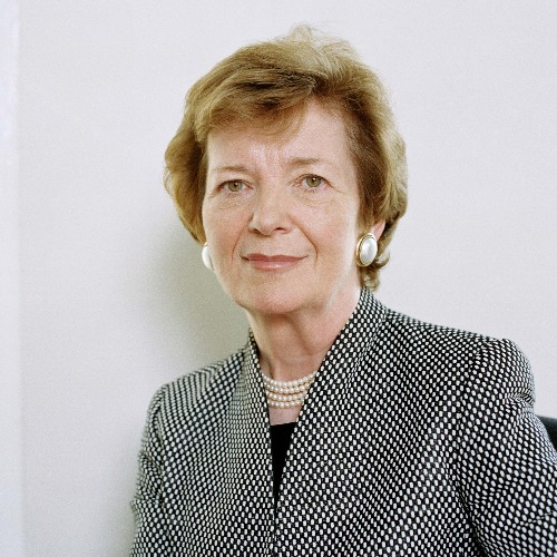 Political Speaker Mary Robinson