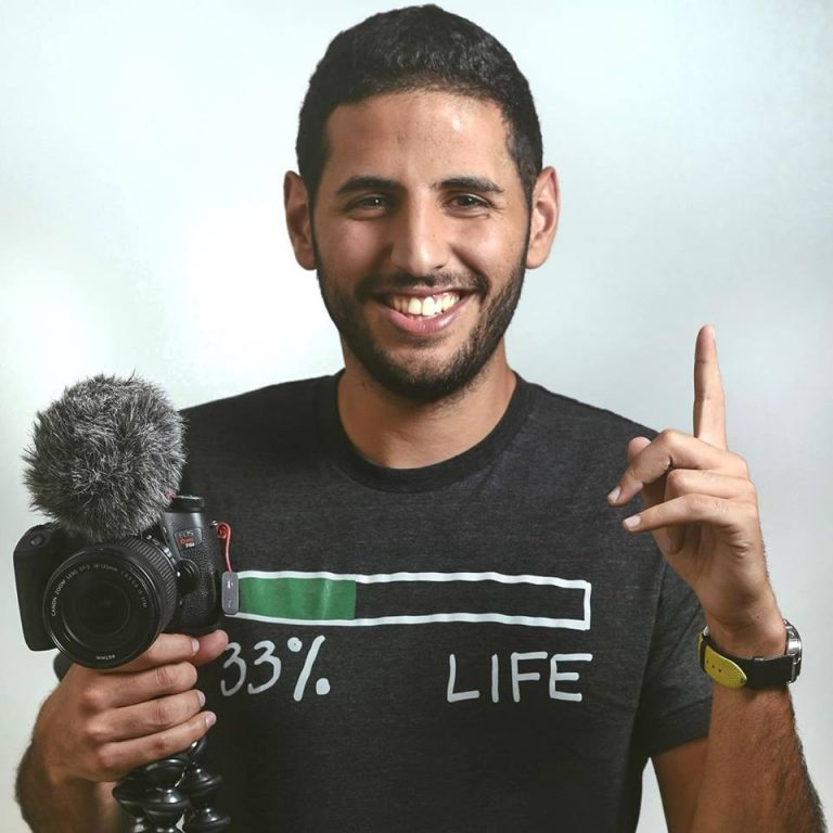 Social Media Speaker Nuseir Nas Yassin
