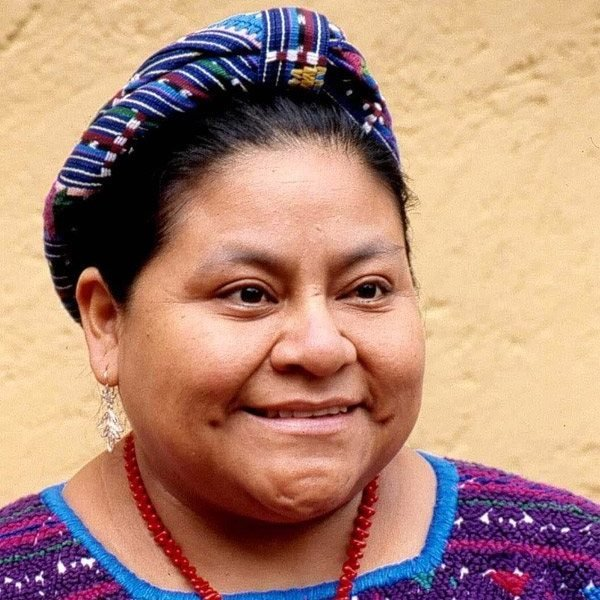 Human Rights Speaker Rigoberta Menchu-Tum